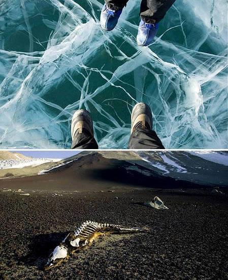 自然之舞 离开地球表面的十胜景