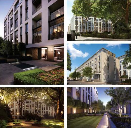 伊布里广场公寓,英国房产,英国世界房产