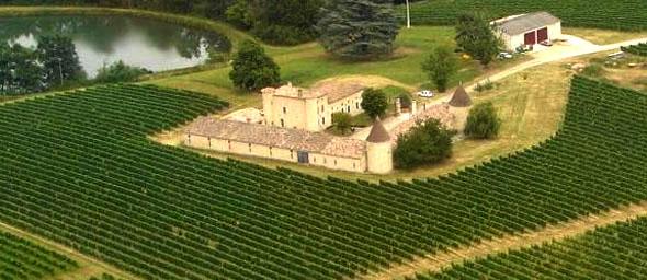 法国葡萄园城堡