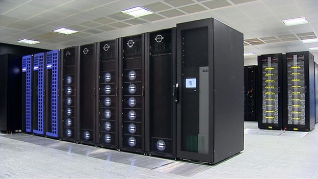 Acher系统超级计算机在爱丁堡大学