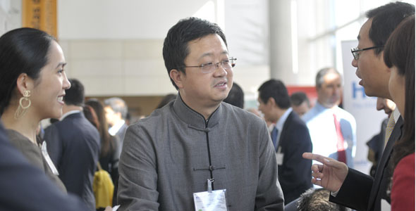 Liang Xinjun FosunGoup, China property developer