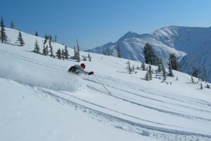 沃尔夫冈湖区,圣吉尔根,奥地利小镇,阿尔卑斯山滑雪