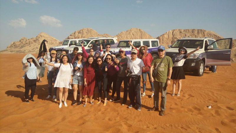 沙迦抢滩中国出境游市场,邀旅游同业考察沙迦