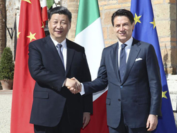 Chinese President Xi visit Italy, Monaco, and France