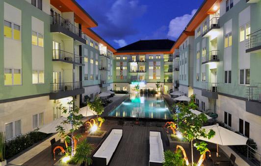 巴厘岛 – 库塔哈里斯河景公寓酒店