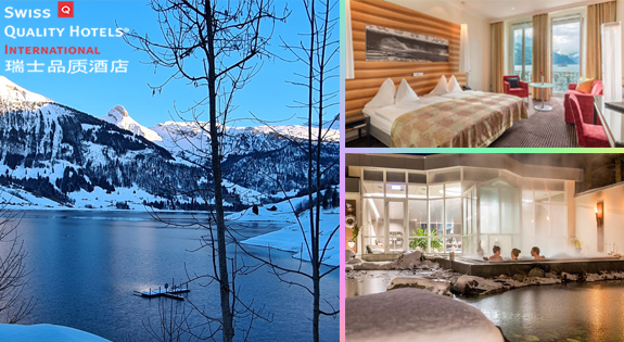 Enjoy the Swiss Unspoilt Nature with Swiss Quality Hotels International