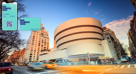Visit Solomon R. Guggenheim Museum with the New York Pss