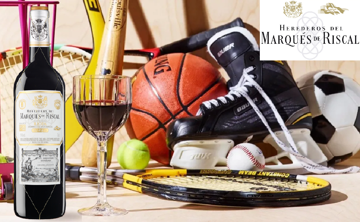 Let's get the Marqués de Riscal wine ready for the toast of Olympic victory!