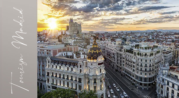 如果生活是一座城市,那就是马德里!