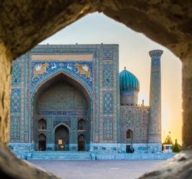 晨曦里的乌兹别克斯坦,带给你最震撼的风景!