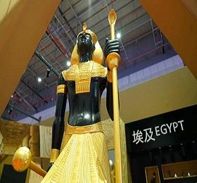 一展看世界!埃及馆在首届中国国际进口博览会大放异彩