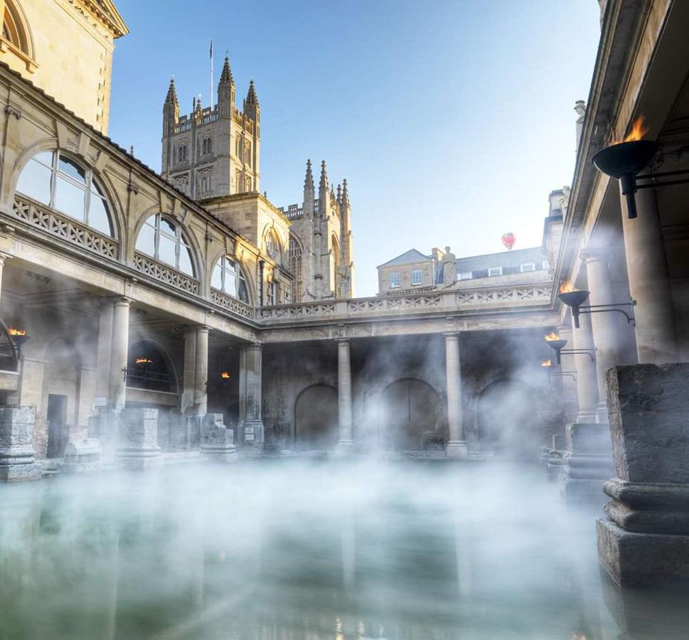 美图丨天然温泉有多美?罗马浴场用组图告诉你