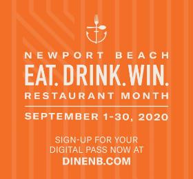 美国加州纽波特海滩餐厅月 | 购物,品美食,赢豪华度假大奖