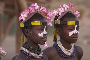 埃塞俄比亚奥莫部落