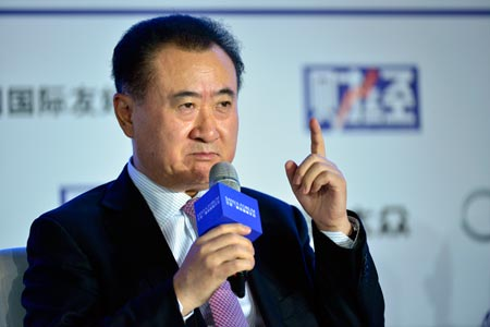 Dalian Wanda Group chairperson Wang Jianlin