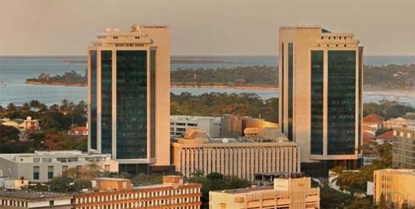 The Bank of Tanzania in Dar es Salaam