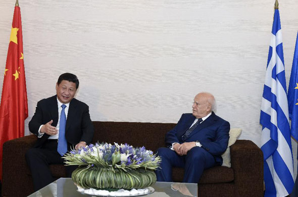 China, Greece vow to further deepen bilateral ties