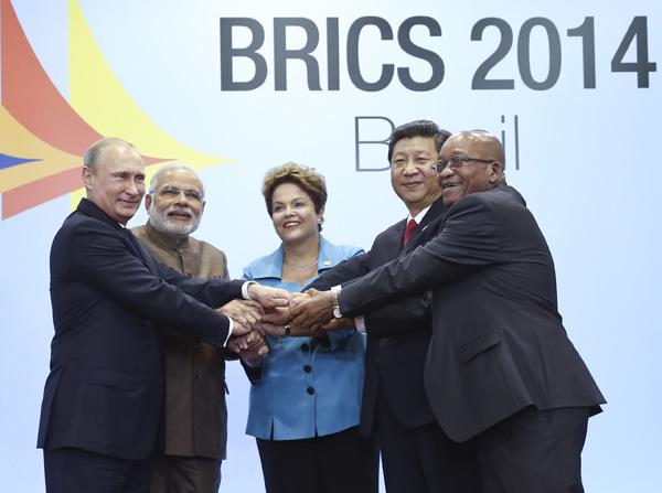 The sixth summit of the BRICS