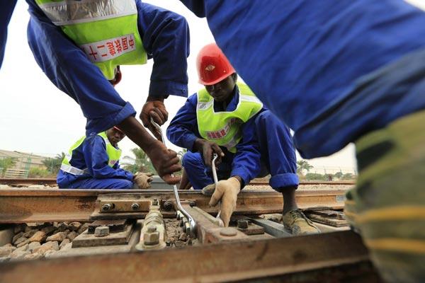 Work wraps up on key Angolan railway project