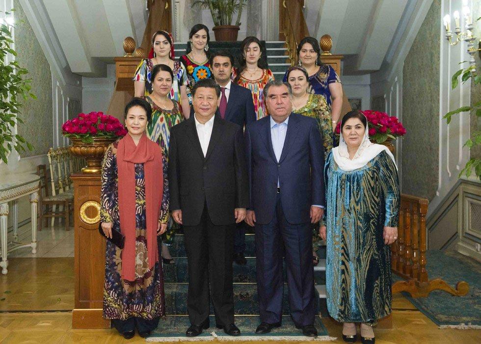 President Xi Jinping visit Tajikstan