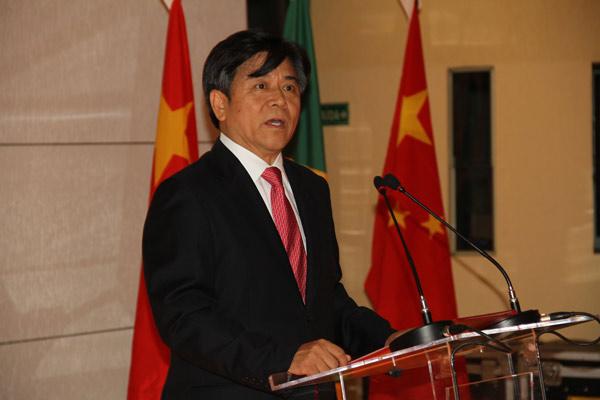 Chinese Ambassador Li Jinzhang