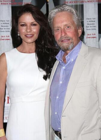迈克尔·道格拉斯(Michael Douglas)和凯瑟琳·泽塔·琼斯(Catherine Zeta-Jones)