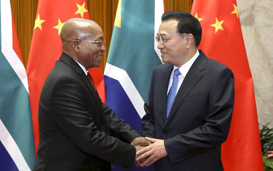 Zuma visit China