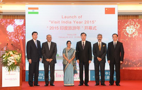 The Year of Indian Tourism Kicks off in Beijing in 2015