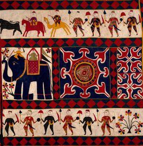 V&A博物馆:印度艺术节之印度的纺织艺术