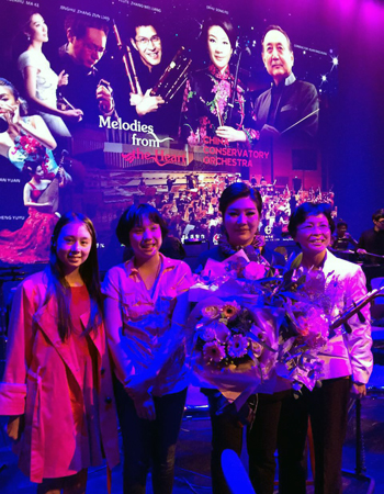 West Meets East and a 11 Years old Chinese fan meets Queen of ErHu