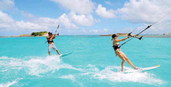 畅游安提瓜和巴布达:加勒比冒险活动