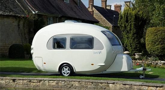 英公司发明圆形篷车引领旅游时尚