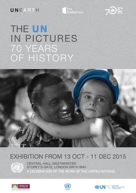 走过七十年<br>联合国特别展在威斯敏斯特中央大厅举办
