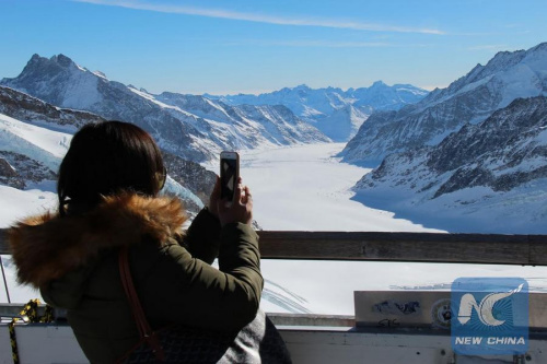 China becomes 4th most important foreign source market for Swiss tourism