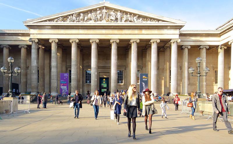 伦敦旅游必去景点大英博物馆