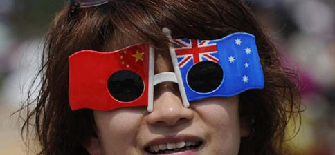 Chinese tourists tour to Australia
