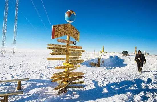 南极沃斯托克-世界上最冷的地方