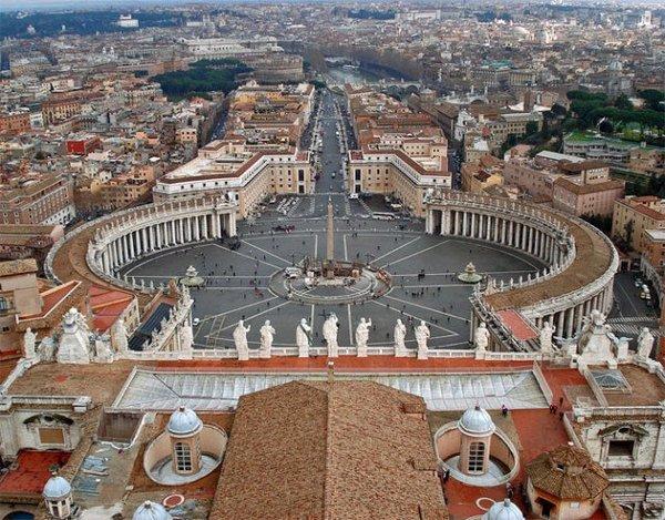 梵蒂冈-世界上人口最少的地区