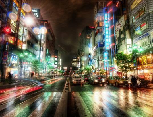 日本东京-世界上最富有的城市