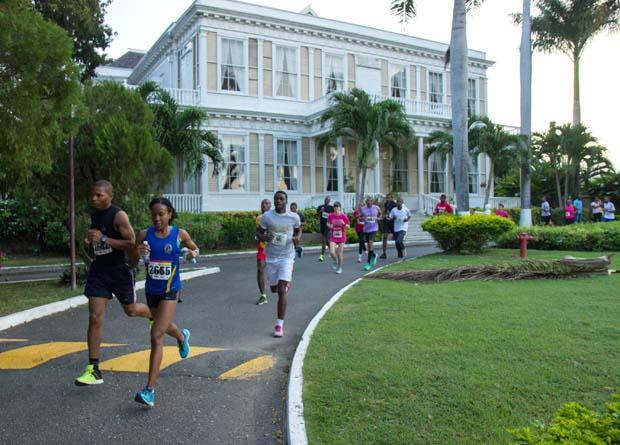牙买加金斯敦城市赛跑-达芳大宅
