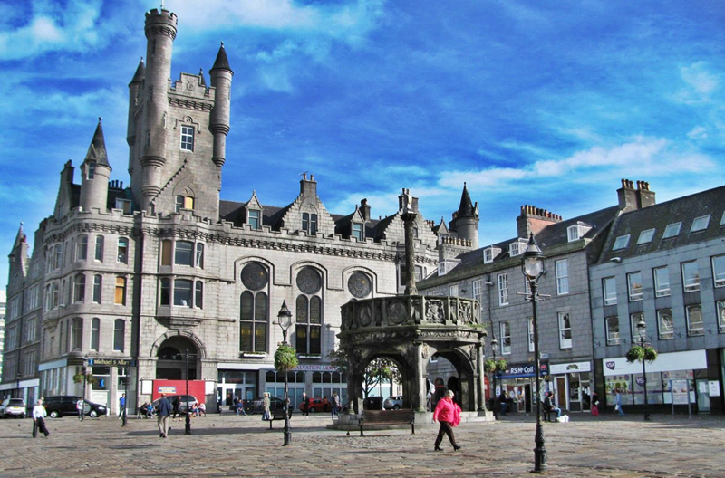 阿伯丁是苏格兰第三大城市