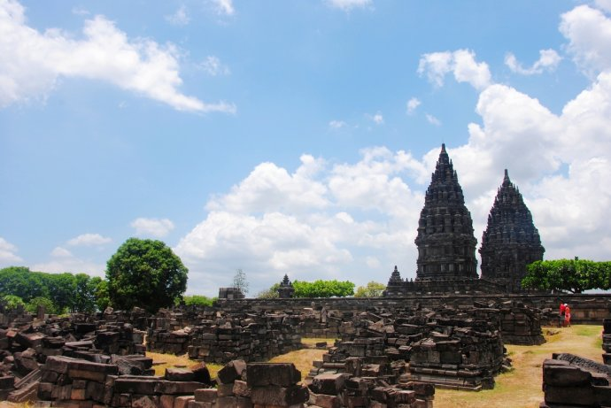保存下来的普兰巴南部分神庙