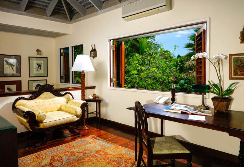 牙买加蒙特哥贝圆山别墅度假酒店书房