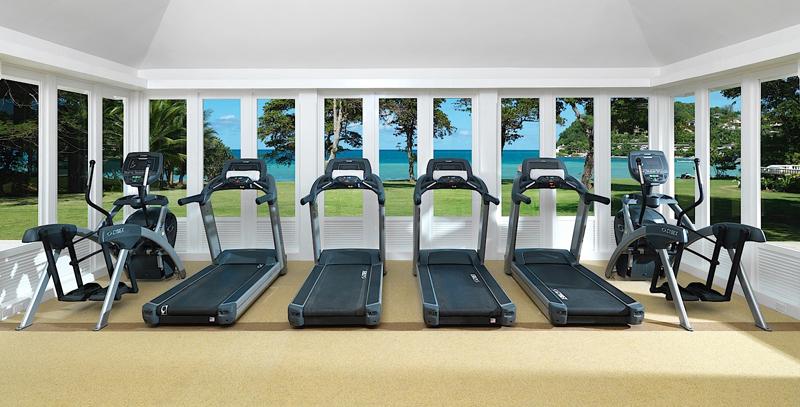牙买加蒙特哥贝圆山别墅度假酒店健身中心