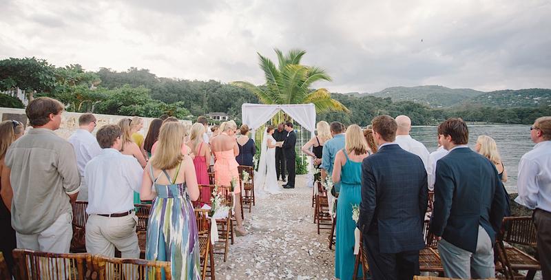 牙买加蒙特哥贝圆山别墅度假酒店婚礼