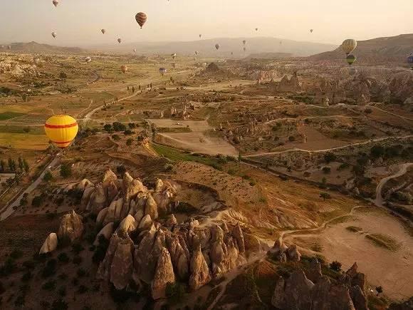 土耳其卡帕多西亚的格雷梅国家公园