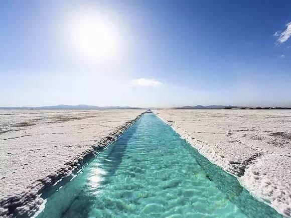 阿根廷大盐田