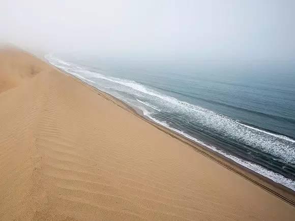 纳米比亚Namid-Naukluft公园的纳米布沙海