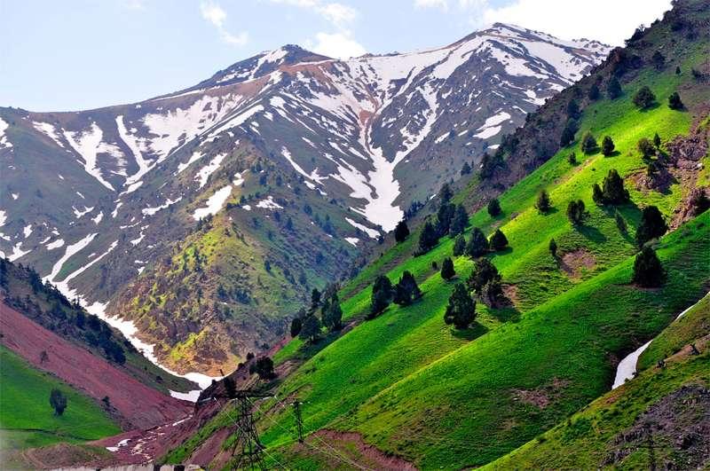 乌兹别克斯坦费尔干纳盆地