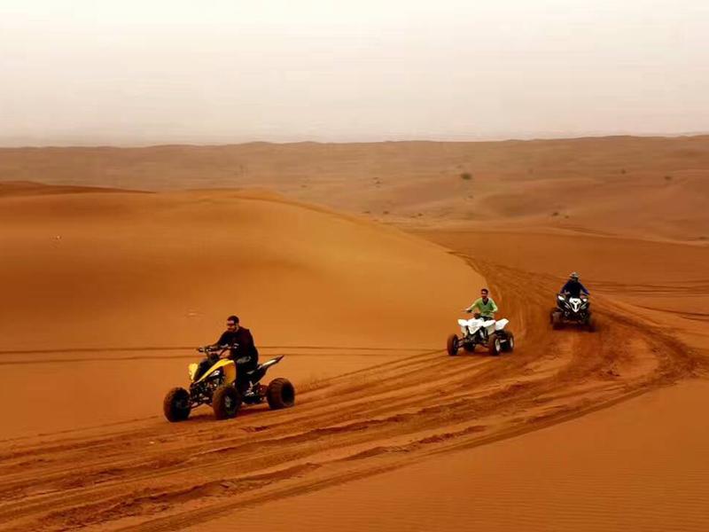 沙迦米雷哈沙漠区冲沙